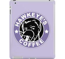 Hawkeye's Coffee iPad Case/Skin