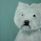 West Highland Terrier by Susanne Correa