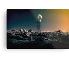 At the Dimming of the Day Metal Print