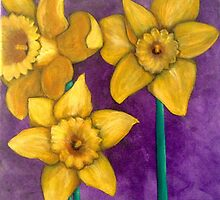 Daffodils by castrovalle