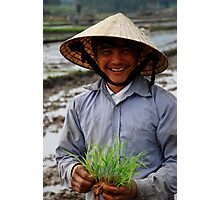 Farmer - Highway 14 (The Ho Chi Minh Trail) Photographic Print