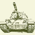 Army Tank by Kadwell
