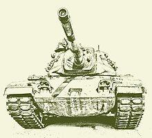 Army Tank by Kadwell