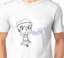 Little stoner boy Unisex T-Shirt