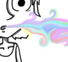 Little stoner boy Sticker