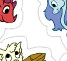 Cute Mythical Critters Sticker