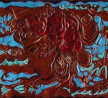 GIRL'S HEAD by monaruth