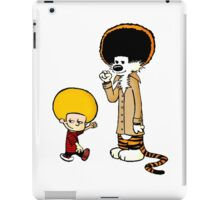 Calvin and Hobbes New Hair iPad Case/Skin