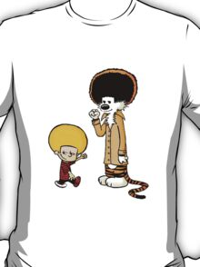 Calvin and Hobbes New Hair T-Shirt