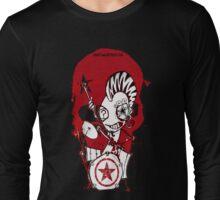 Punk Drummer Long Sleeve T-Shirt