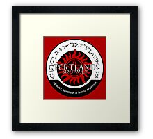 Portland Supernatural Family Logo Framed Print