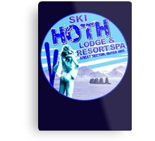 Hoth Lodge Metal Print