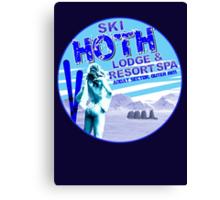 Hoth Lodge Canvas Print
