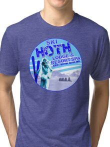 Hoth Lodge Tri-blend T-Shirt
