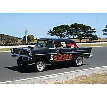 Yesteryear Drag racing Photographic Print