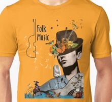 Folk and country music Unisex T-Shirt