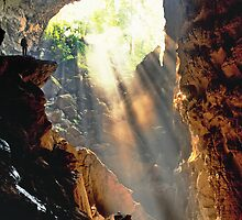 Light at the end of the tunnel by John Spies