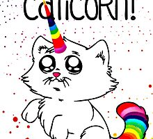 Funny I am Caticorn by SeeSide