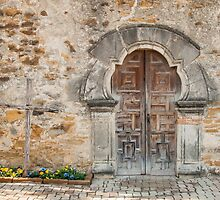 Entrance to San Juan Mission Church by Robert Kelch, M.D.