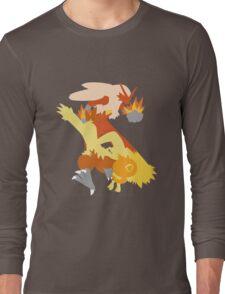 Torchic Evolution Long Sleeve T-Shirt