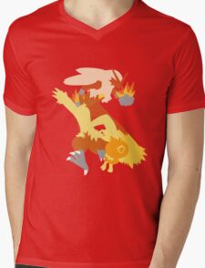 Torchic Evolution Mens V-Neck T-Shirt