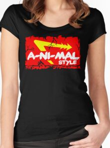 Animal Style Women's Fitted Scoop T-Shirt