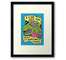 Eye Rex Framed Print