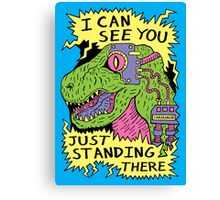 Eye Rex Canvas Print