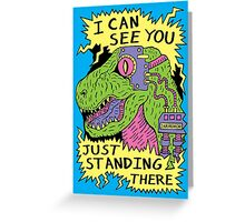 Eye Rex Greeting Card