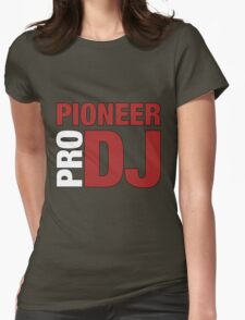 Pioneer DjPro Womens Fitted T-Shirt