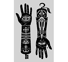 Hands of Fate (without Abstergo logo) Photographic Print