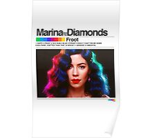 Marina Froot Spectrum Color Poster