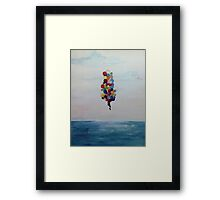 Great Heights Framed Print