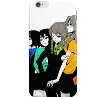 Steins gate characters iPhone Case/Skin
