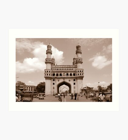 Charminar, Hyderabad, India Art Print
