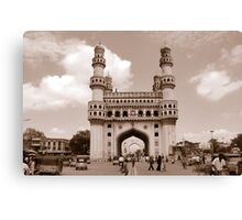 Charminar, Hyderabad, India Canvas Print