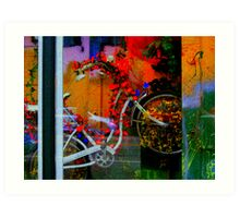 Bike Take Me Away Art Print