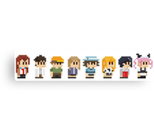 Steins gate anime characters Canvas Print