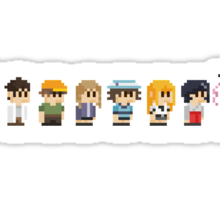 Steins gate anime characters Sticker