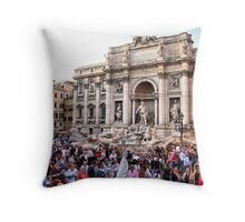 Fontana di Trevi II Throw Pillow