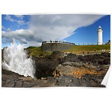 Kiama Lighthouse and Blowhole Poster