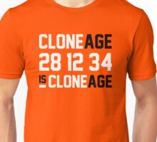 Cloneage Is Cloneage (Orange Ver.) Unisex T-Shirt