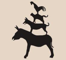 The Town Musicians of Bremen (Die Bremer Stadtmusikanten) - light tees T-Shirt