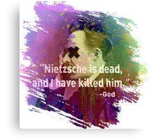 Dead Nietzsche Canvas Print