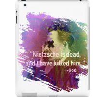 Dead Nietzsche iPad Case/Skin