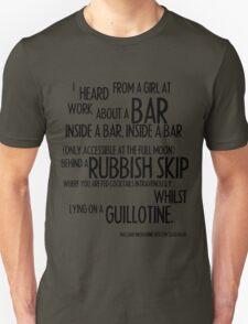 MELBOURNE - BAR Unisex T-Shirt