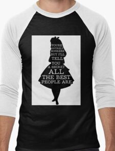 Alice in Wonderland Have I Gone Bonkers Quote T-Shirt