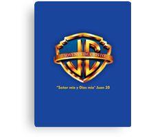 WarnerBros logo Cristo Canvas Print