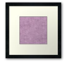 Lavender Herb Oil Pastel Color Accent Framed Print