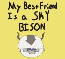 My Best Friend Is A Sky Bison Kids Clothes